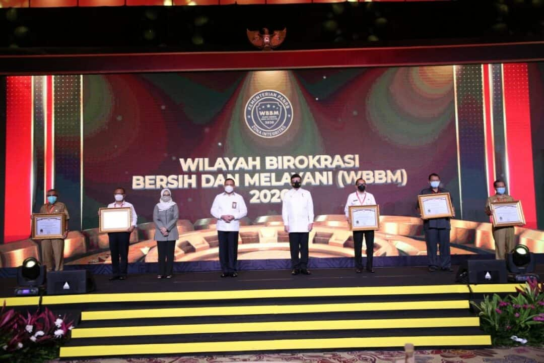 Penghanugerahan Zona Integritas Menuju WBK/WBBM Tahun 2020