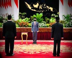 Presiden Jokowi Lantik Kepala BNN dan BRGM di Istana Negara