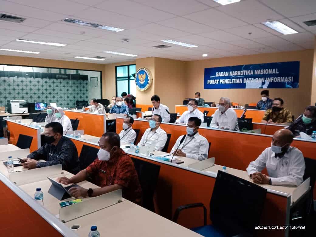 Taklimat Awal Badan Pemeriksa Keuangan di Badan Narkotika Nasional