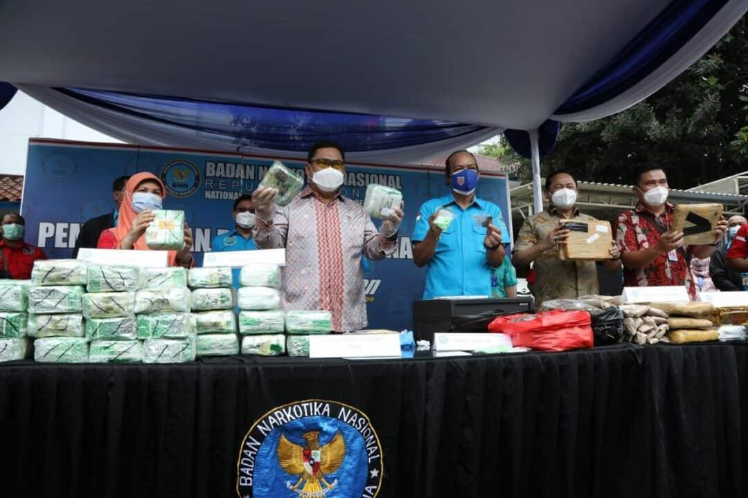 Pengungkapan Jaringan Kampung Ambon dan Pemusnahan Barang Bukti Narkotika