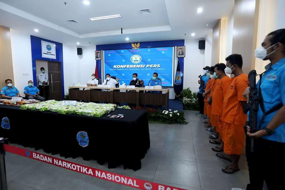 BNN Sita 53,05 Sabu dari Sindikat Jaringan Narkoba Internasional (Malaysia – Sulawesi Tengah dan Jaringan Bagan Siapi-api – Jakarta)