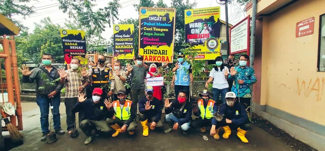 BNN Dukung Babakan Sari Jadi Role Model Kecamatan Bersih Narkoba
