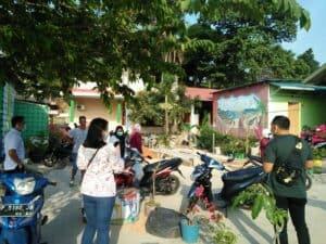Peninjauan lokasi Kawasan Rawan Narkoba di Kel. Tanjung Uma