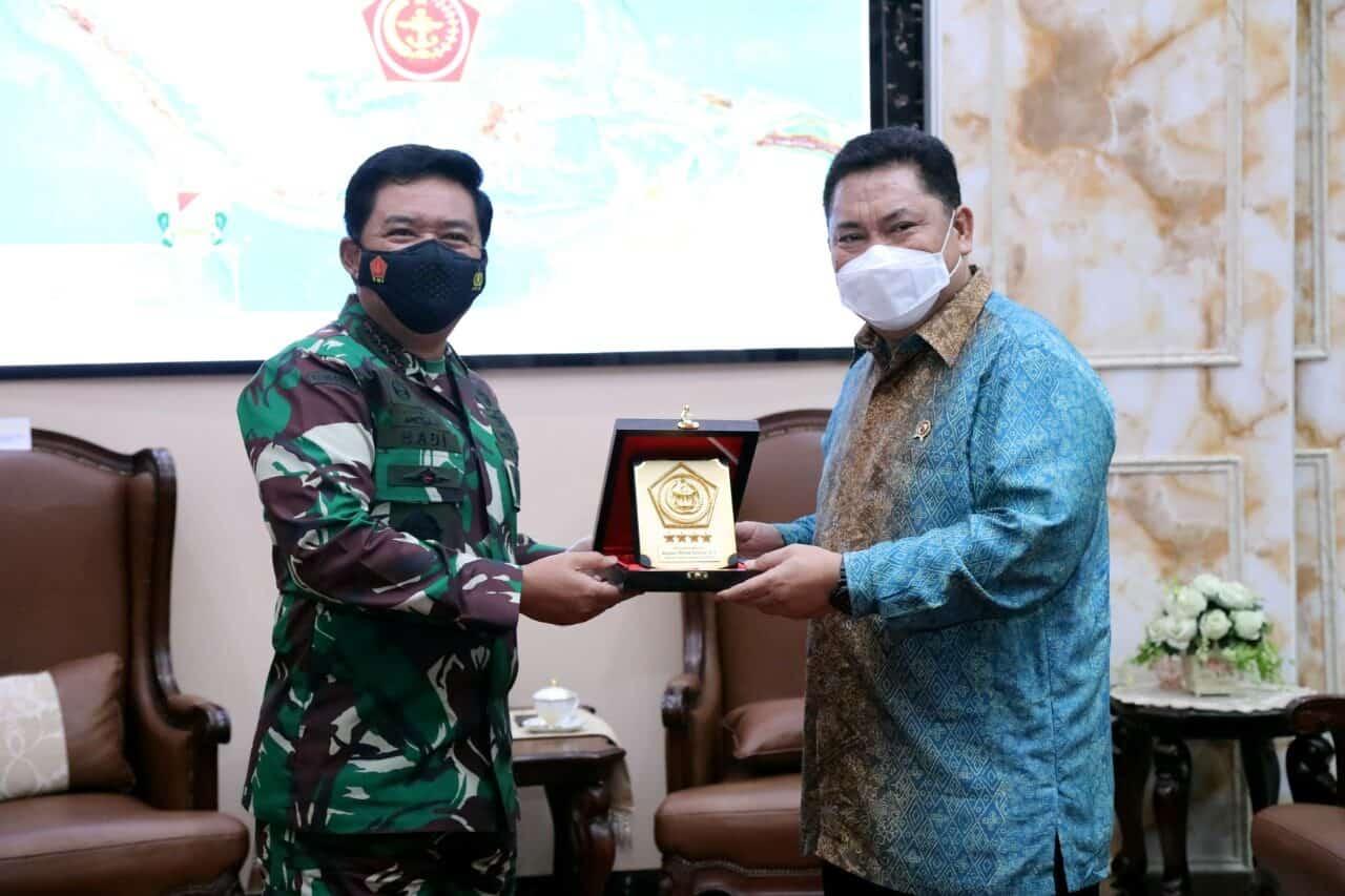 TNI Beri Dukungan Penuh WAR ON DRUGS Dari Darat, Laut Dan Udara