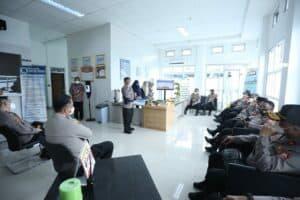 Kunjungan Kepala BNNP Ke Pusat Laboratorium Narkotika Di Lido