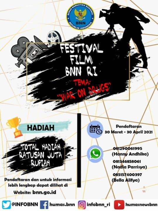 Festival Film Pendek BNN RI Tahun 2021
