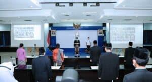 Sestama Lantik Penyidik Utama, Administrator, Pengawas dan Ratusan Pejabat Fungsional