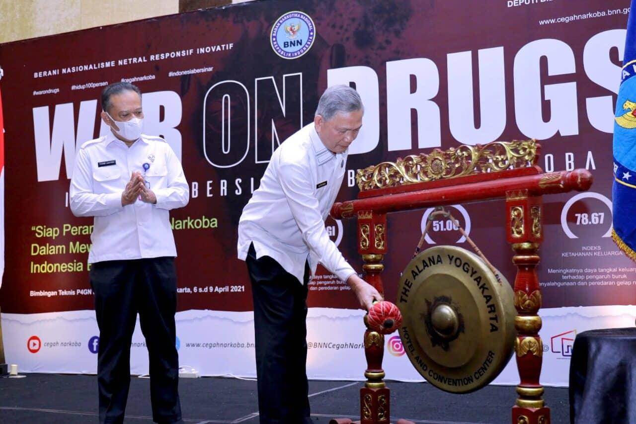 Targetkan Indeks Ketahanan Keluarga Dari Penyalahgunaan Narkoba, Deputi Pencegahan Gelar Bimtek Tingkat Nasional