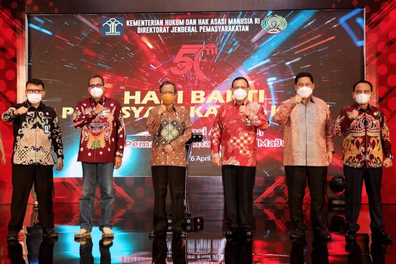 Kepala BNN RI Hadiri Peringatan Hari Bhakti PemasyarakatanKe-57