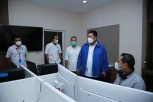 Kepala BNN RI Meninjau Pusat Komando Interdiksi