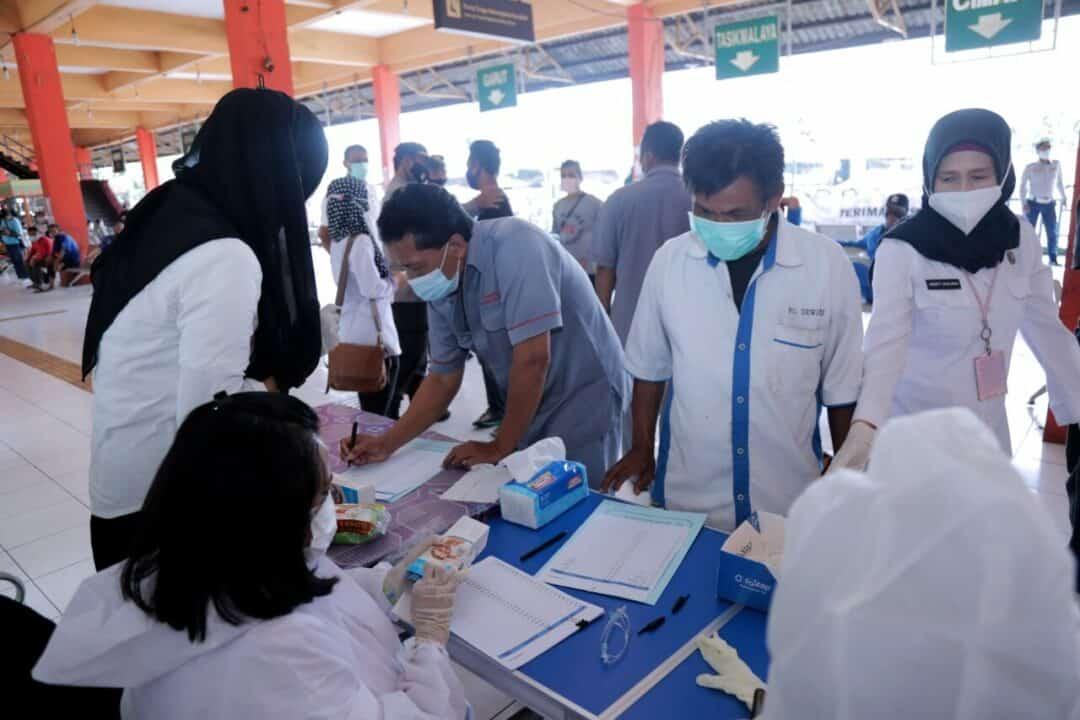 BNN Gelar Tes Urine Dalam Rangka Pra HANI 2021