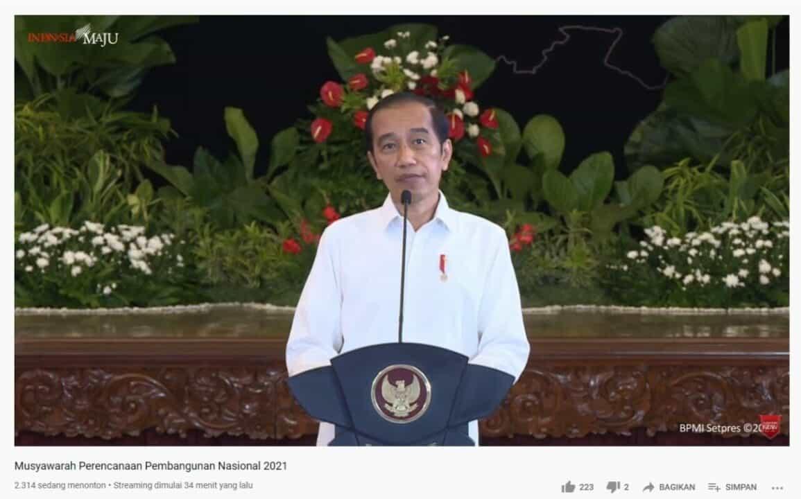 Kepala BNN RI Hadiri Musrenbangnas 2021