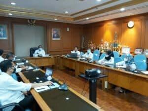 Audiensi Program GDAD dan Implementasi Inpres 2/2020 di Kementerian Lingkungan Hidup dan Kehutanan