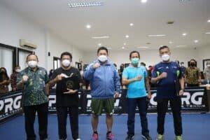 "Jelang HANI, Satker BNN Adu Skill Dalam Turnamen Tenis Meja ""Smash on Drugs"""