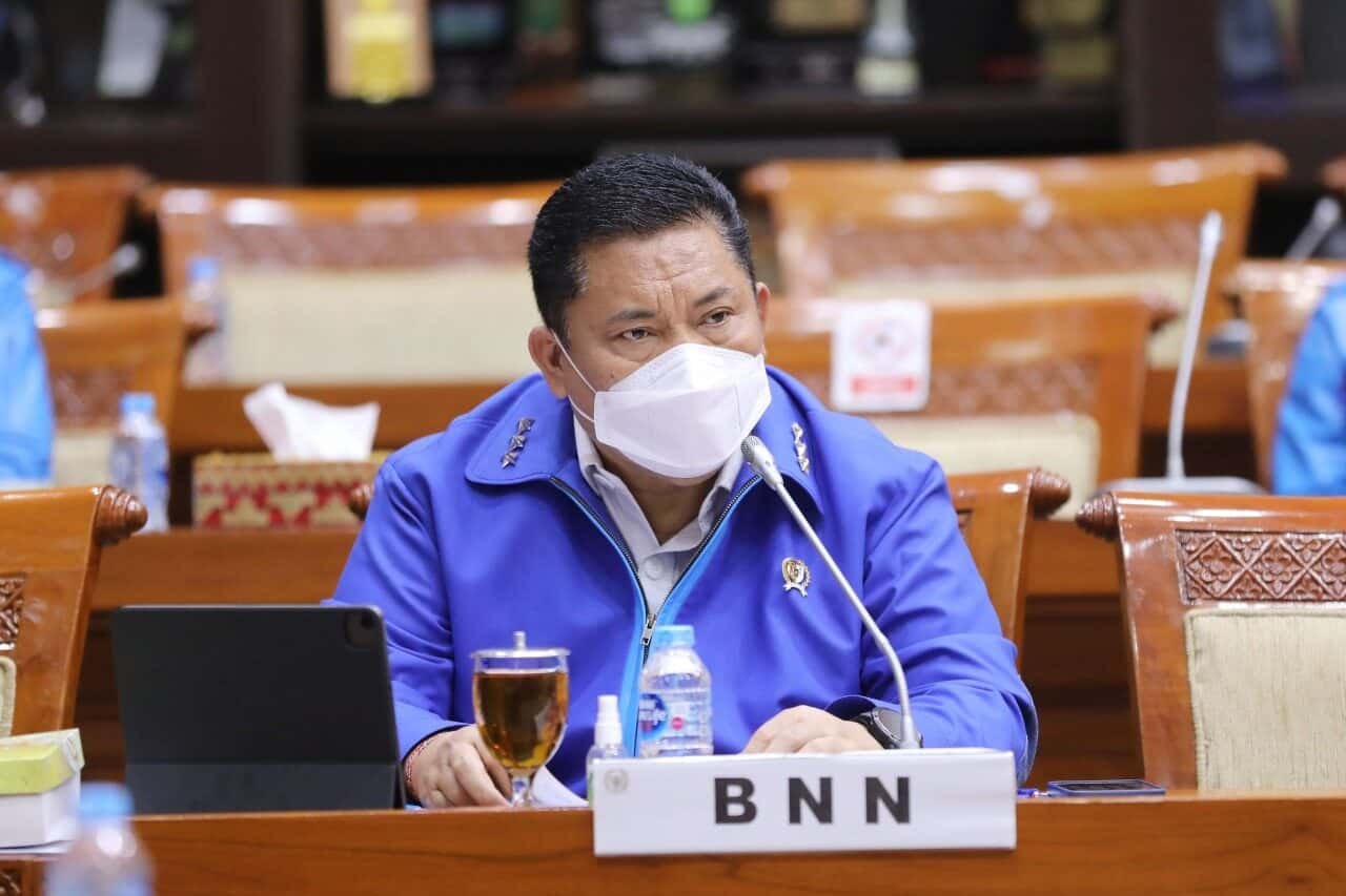 Komisi III DPR RI Dukung Penguatan Program Dan Anggaran BNN RI T.A 2022