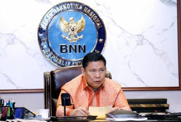 Kepala BNN Sampaikan Peran Penting PNS dalam Penutupan Pelatihan Dasar CPNS BNN
