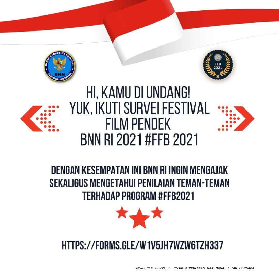 Penilaian Publik Tentang Festival Film Pendek BNN RI 2021 (FFB 2021)