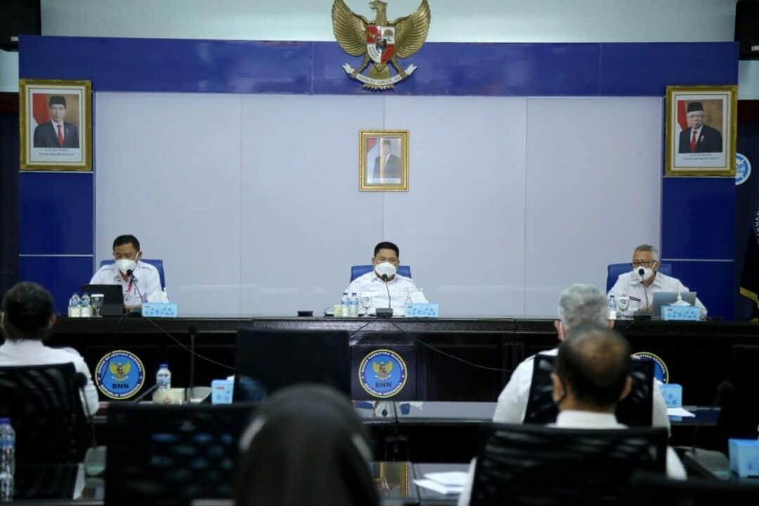 Kepala BNN Pimpin Evaluasi Kinerja Program dan Anggaran BNN Semester Pertama 2021