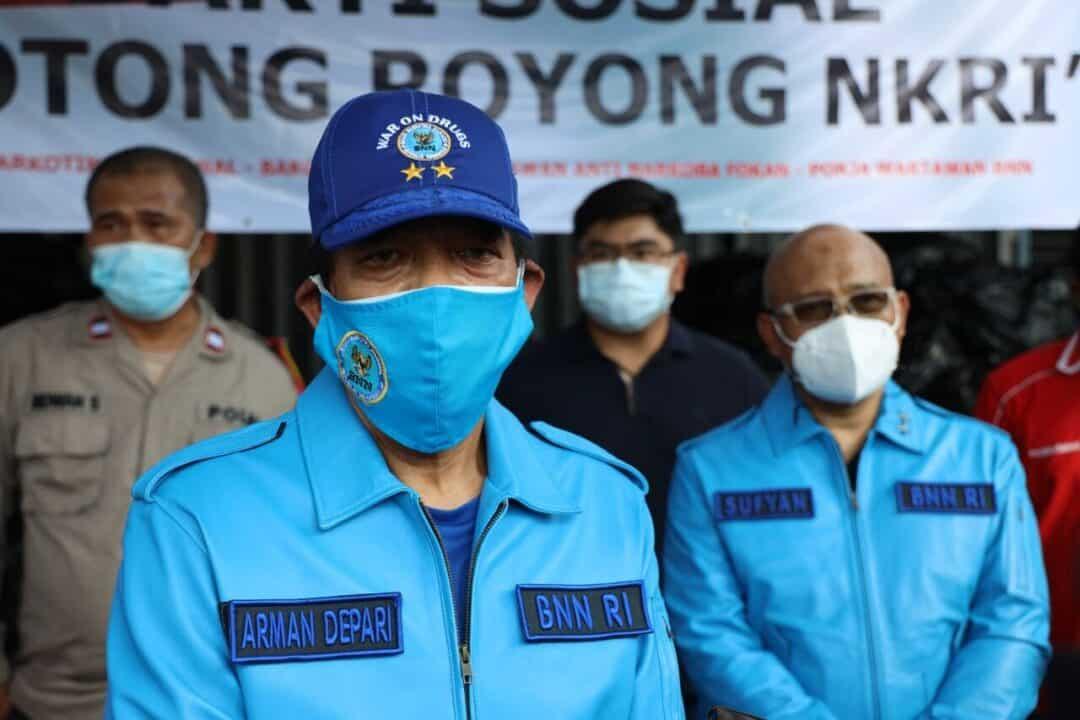 Bakti Sosial BNN RI Bantu Warga Terdampak Pandemi