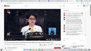 Kepala BNN RI Ikuti Upacara Peringatan HUT Ke-76 Kemerdekaan RI Secara Virtual