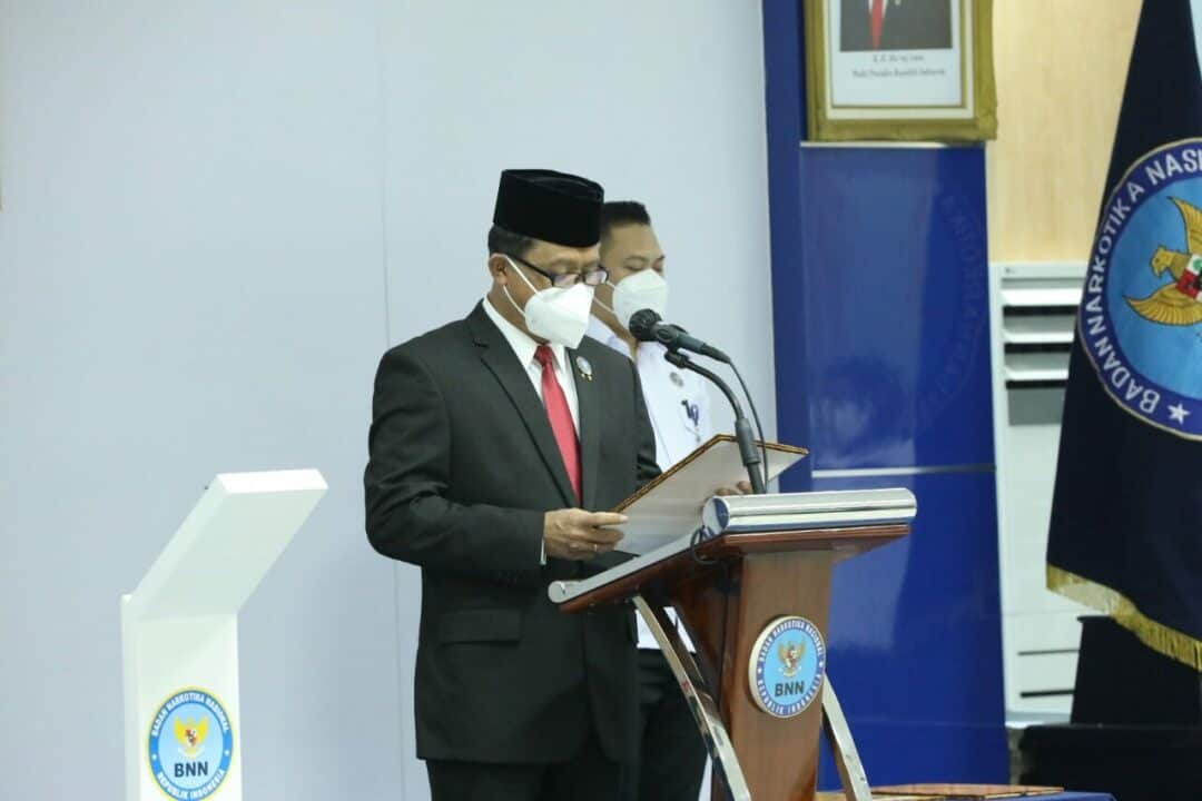 Pelantikan Jabatan Pimpinan Tinggi Pratama, Administrator, dan Fungsional Oleh Sekretaris Utama BNN RI