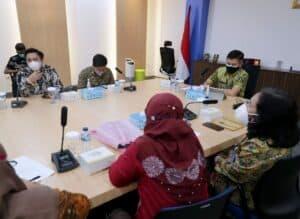 BNN RI Laksanakan Pertemuan Dengan Ombudsman Mengenai Penilaian Kepatuhan Penyelenggara Pelayanan Publik