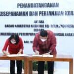 Kepala BNN RI dan Menteri PPPA, Teken MoU Lindungi Perempuan Dan Anak Dari Kejahatan Narkoba