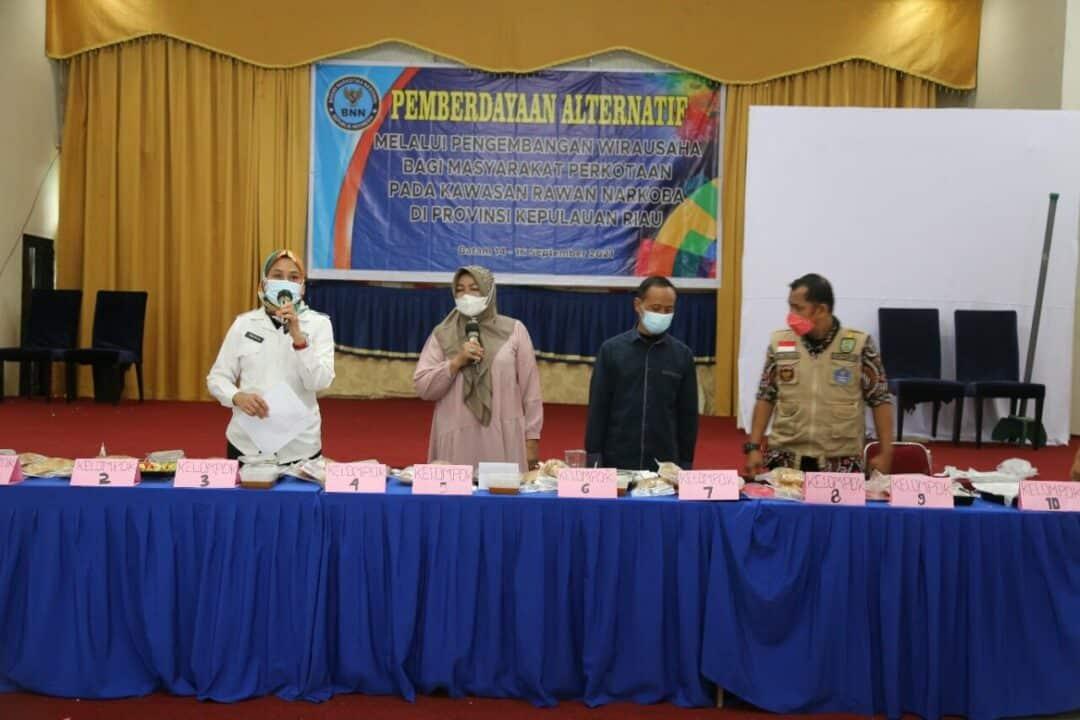 Pengembangan Masyarakat Di Bidang Kuliner Salah Satu Upaya BNN Dalam P4GN